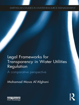 cover image of Legal Frameworks for Transparency in Water Utilities Regulation