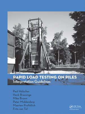 cover image of Rapid Load Testing on Piles