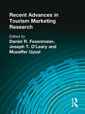 cover image of Recent Advances in Tourism Marketing Research
