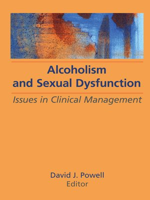 cover image of Alcoholism and Sexual Dysfunction