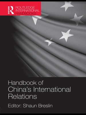 cover image of A Handbook of China's International Relations