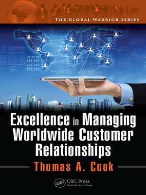 cover image of Excellence in Managing Worldwide Customer Relationships