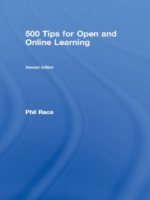 cover image of 500 Tips for Open and Online Learning