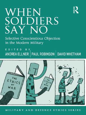 cover image of When Soldiers Say No