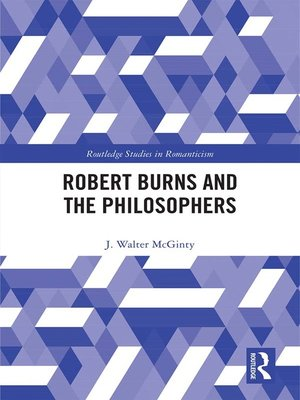 cover image of Robert Burns and the Philosophers