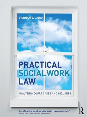 cover image of Practical Social Work Law