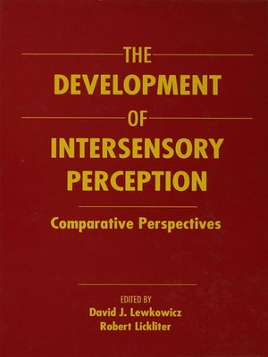 cover image of The Development of Intersensory Perception