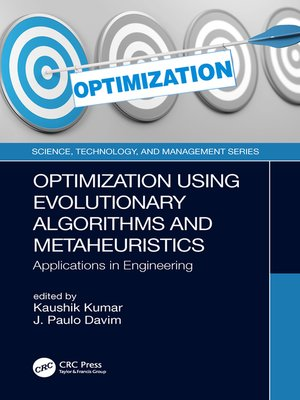 cover image of Optimization Using Evolutionary Algorithms and Metaheuristics