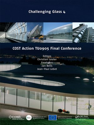 cover image of Challenging Glass 4 & COST Action TU0905 Final Conference