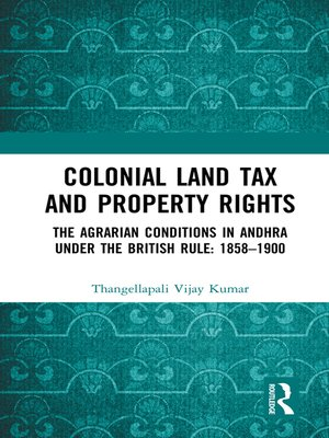 cover image of Colonial Land Tax and Property Rights