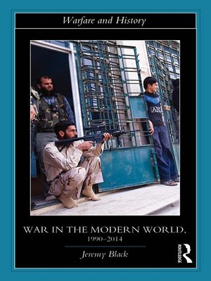 cover image of War in the Modern World, 1990-2014