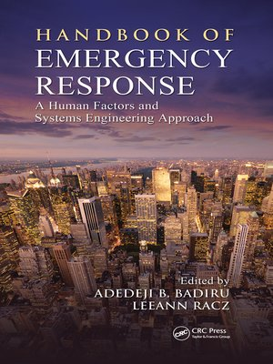 cover image of Handbook of Emergency Response