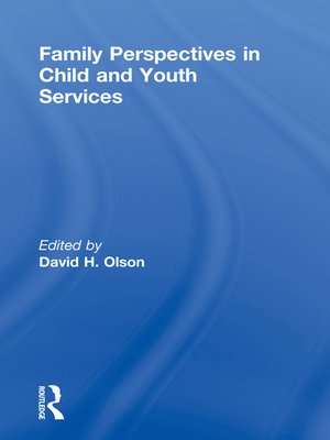 cover image of Family Perspectives in Child and Youth Services