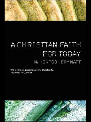 cover image of A Christian Faith for Today