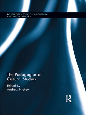 cover image of The Pedagogies of Cultural Studies