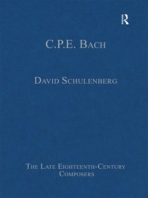cover image of C.P.E. Bach