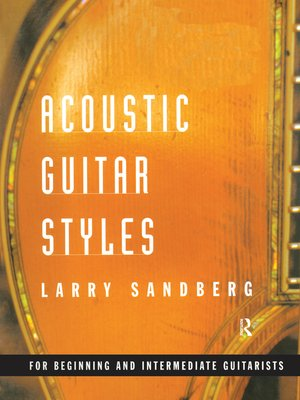 cover image of Acoustic Guitar Styles