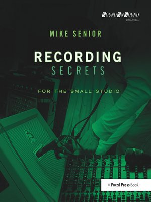 cover image of Recording Secrets for the Small Studio