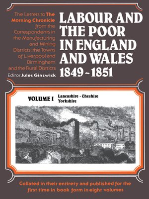 cover image of Labour and the Poor in England and Wales, 1849-1851