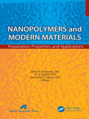cover image of Nanopolymers and Modern Materials
