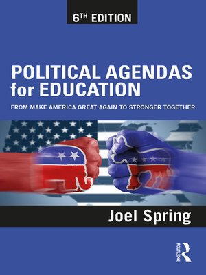 cover image of Political Agendas for Education