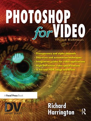 cover image of Photoshop for Video