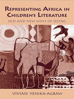 cover image of Representing Africa in Children's Literature