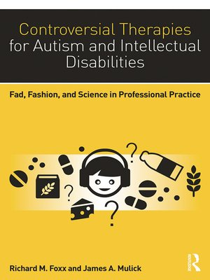 cover image of Controversial Therapies for Autism and Intellectual Disabilities