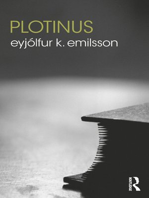 cover image of Plotinus