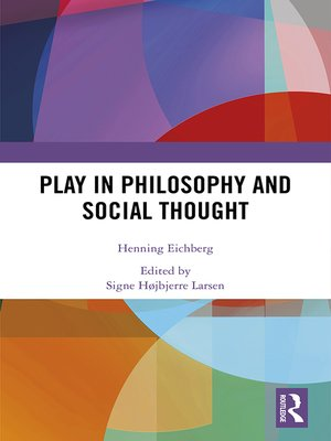 cover image of Play in Philosophy and Social Thought