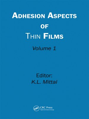 cover image of Adhesion Aspects of Thin Films, Volume 1