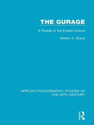 cover image of The Gurage