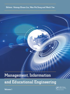 cover image of Management, Information and Educational Engineering