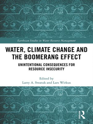 cover image of Water, Climate Change and the Boomerang Effect