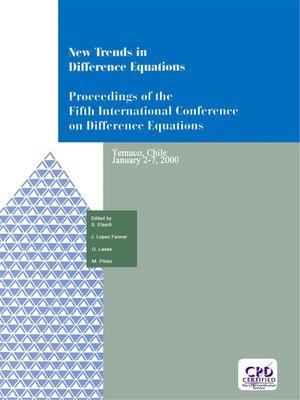cover image of New Trends in Difference Equations