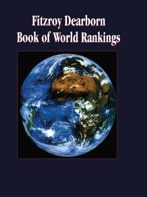 cover image of Fitzroy Dearborn Book of World Rankings