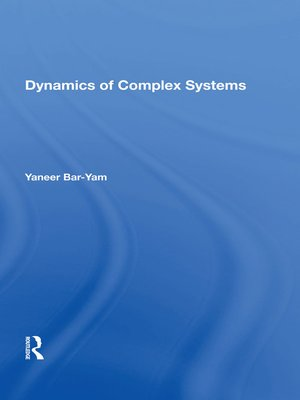 cover image of Dynamics of Complex Systems
