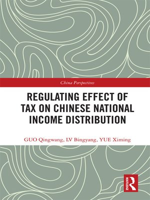cover image of Regulating Effect of Tax on Chinese National Income Distribution