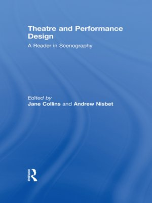cover image of Theatre and Performance Design
