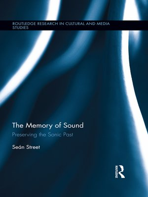 cover image of The Memory of Sound