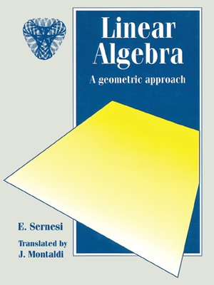 cover image of Linear Algebra