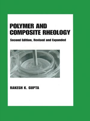 cover image of Polymer and Composite Rheology