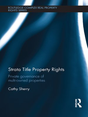 cover image of Strata Title Property Rights