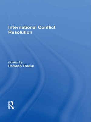 cover image of International Conflict Resolution