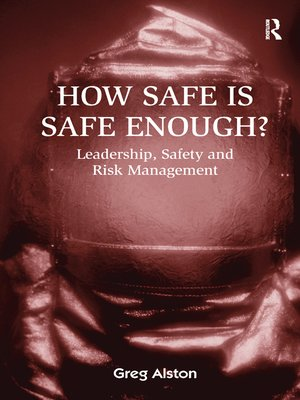 cover image of How Safe is Safe Enough?