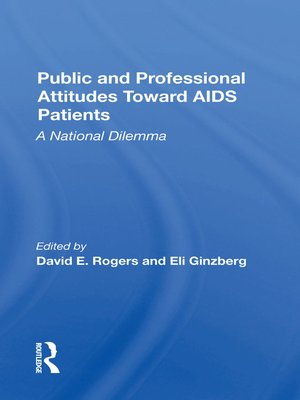 cover image of Public and Professional Attitudes Toward Aids Patients