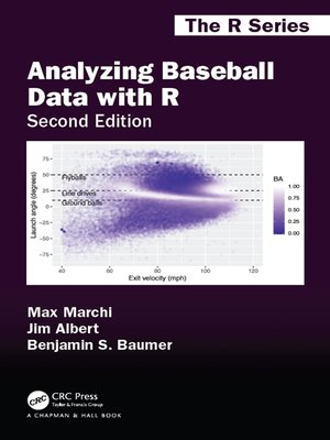 cover image of Analyzing Baseball Data with R