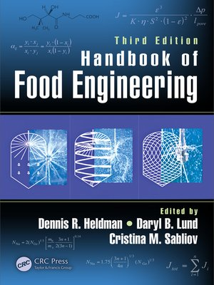 cover image of Handbook of Food Engineering