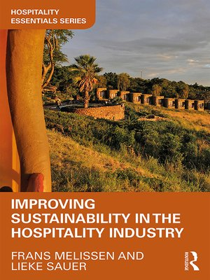 cover image of Improving Sustainability in the Hospitality Industry