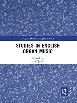 cover image of Studies in English Organ Music